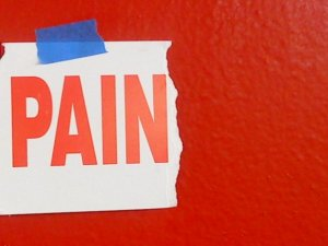 Pain is often a big red siren directing us towards a repressed truth.